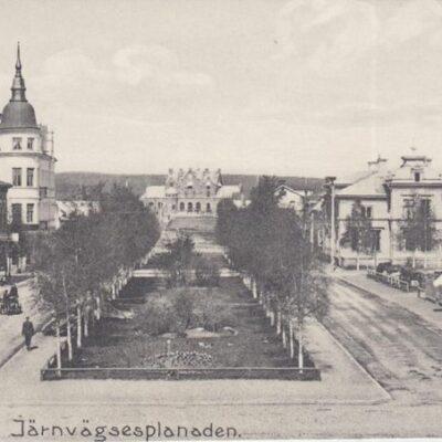 Järnvägsesplanaden Ägare: Ivar Söderlind 18x8