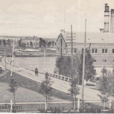 Bron öfver Umeälfven Ägare: Ivar Söderlind 18x8