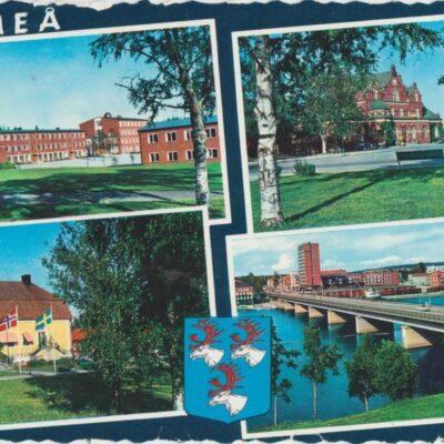 UMEÅ AB GRAFISK KONST Poststämplat 1965-07-27 Ägare: Ivar Söderlind 10x15