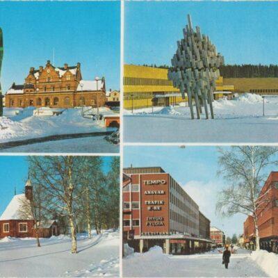 UMEÅ Hallens foto Poststämplat 1973-03-07 Ägare: Ivar Söderlind 10x15