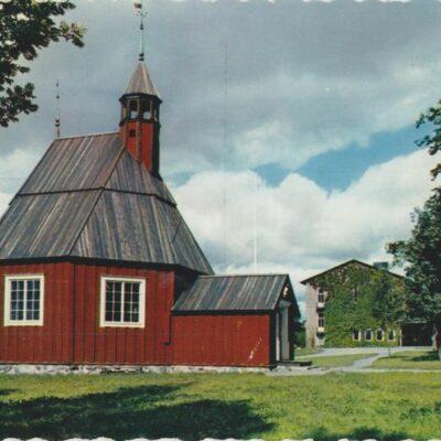 Umeå. Helena Elisabeth Kyrka AB GRAFISK KONST Poststämplat 1963-04-24 Ägare: Ivar Söderlind 10x15