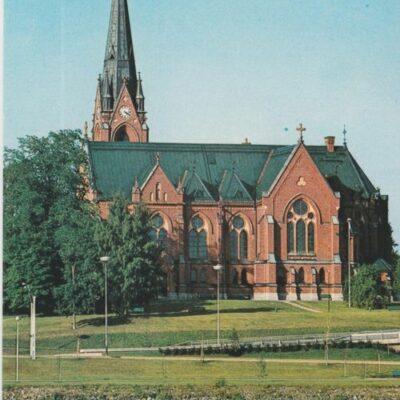UMEÅ. Kyrkan vid Umeälven Hallens reklamtryck Ocirkulerat Ägare: Ivar Söderlind 10x15