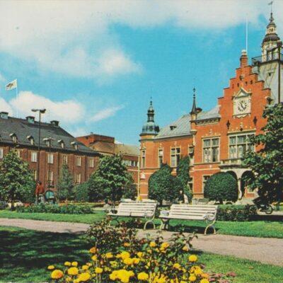 Umeå. Rådhuset Förlag: K. Rune Lundström AB, Skellefteå Poststämplat 1990-04-?? Ägare: Ivar Söderlind 10x15