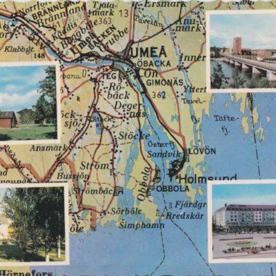Umeå AB GRAFISK KONST Poststämplat 1964-09-21 Ägare: Ivar Söderlind 10x15