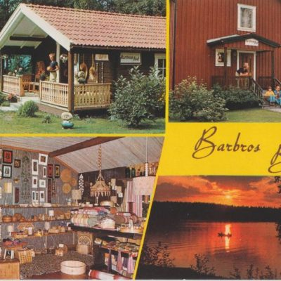 Barbros bod Copyright: Grönlunds Foto, Skansholm, Vilhelmina Ocirkulerat Ägare: Ivar Söderlind 10x15