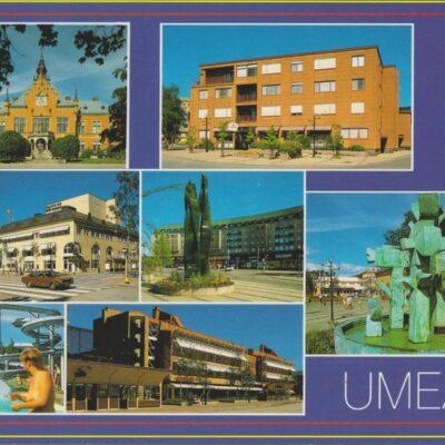 UMEÅ Förlag: K. Rune Lundström AB, Skellefteå Poststämplat 1993-10-06 Ägare: Ivar Söderlind 10x15