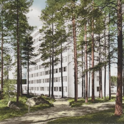Lycksele Lasarett Förlag: Lycksele Pappershandel, Lycksele Ocirkulerat Ägare: Åke Runnman 10x15