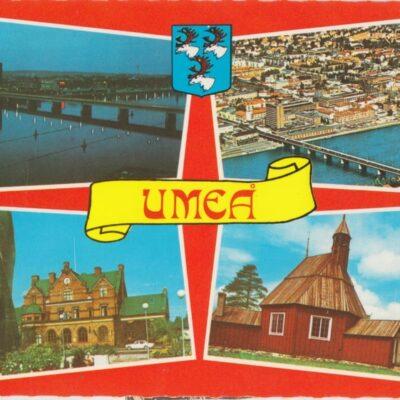 UMEÅ Förlag: K. Rune Lundström AB, Skellefteå Poststämplat 1982-07-23 Ägare: Åke Runnman 10x15