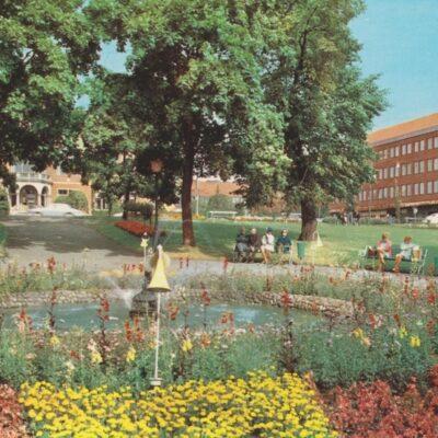 Umeå Rådhusparken Förlag: K. Rune Lundström AB, Skellefteå Ocirkulerat Ägare: Åke Runnman 10x15