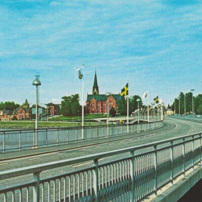 Umeå. Kyrkbron Copyright Sa-mar ab Poststämplat ????-07-15 Ägare: Åke Runnman 10x15
