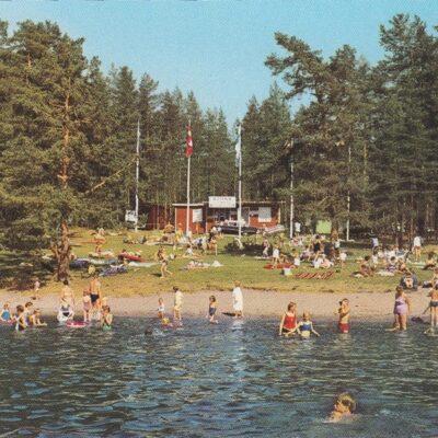 Campingplatsen Ansia, Lycksele, Sweden Copyright: Herman Grönlund, SKansholm Ocirkulerat Ägare: Åke Runnman 10x15