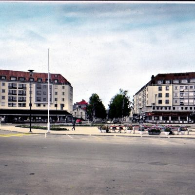 Umeå. Spektrumhusen. Förlag: Domus Bokavdelningen. Umeå Ocirkulerat Ägare: Åke Runnman 10x15