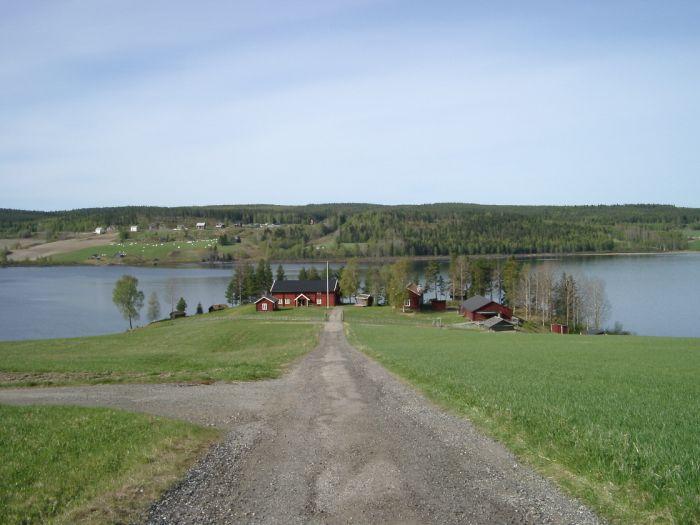 Bild över hembygdsområdet