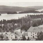 Utsikt över Umeälv från vattentornet