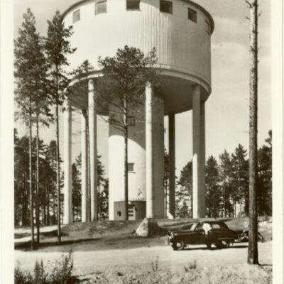 Kaffetornet. Lycksele Poststämplat 1/7 1957 Ägare: Åke Runnman 9x14