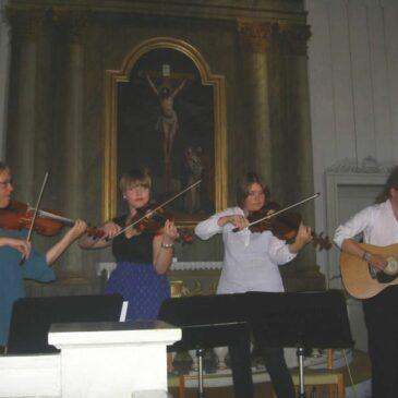 Sång och spel i Örträsk kyrka