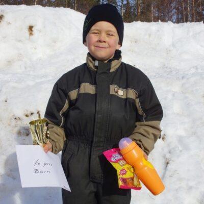 Emil Åström, Umeå Segrade i Barnklassen