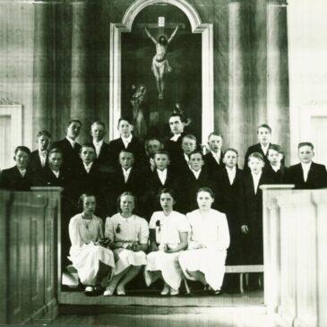 Konfirmationsfoto från 1942