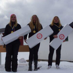 Segrarna i Äldre Damjuniorer från Jämtland/härjedalen Viktoria Fängström, Julia Hägg, Amanda Frank