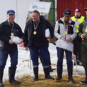 Segrarna i Äldre Herrveteraner från Örebro Pentti Harmala, Rolf Nordqvist, Bengt Österholm, Bengt-Ove Pettersson