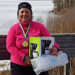 Annete Rimmevik från Lycksele SFK tog förstapriset i damseniiorklassen