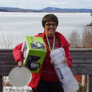 Birgitta Nilsson, AFK Flugan, vann i damveteran