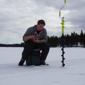 Joakim Eriksson, Nora, drog upp fisk efter fisk liksom klubbkamraten Gustav Eriksson