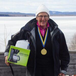 Solveig Svee från Sundsjöfikarna blev bäst bland äldre damveteranerna
