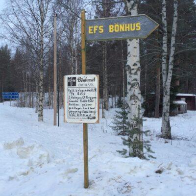 2015-02-15 Den årliga fettisdagsgudstjänsten på bönhuset är på gång Foto: Åke Runnman