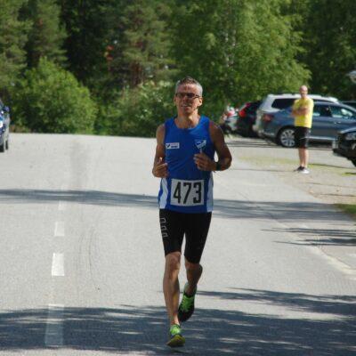 Göran Jonsson, IFK Umeå blev trea på kvartsmaran