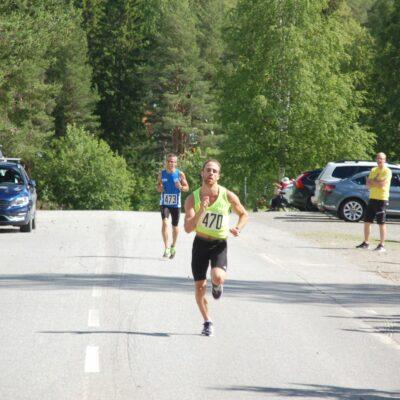 Mikael Nilsson, IFK Arvidsjaur Skidor tvåa på kvartsmaran
