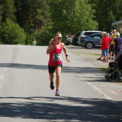 Sofia Lindberg, Robertsfors IK kom in som tredje dam på kvartsmaran