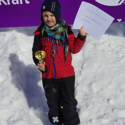 August Wengberg från Stöcke vann barnklassen med sin abborre på 185 gram