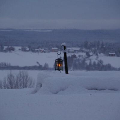 December 2008 En julhälsning till er alla. Foto: Åke Runnman