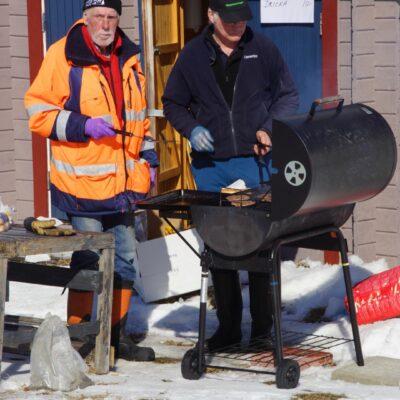 Grillmästarna Berndt Wahlberg och Peder Landström