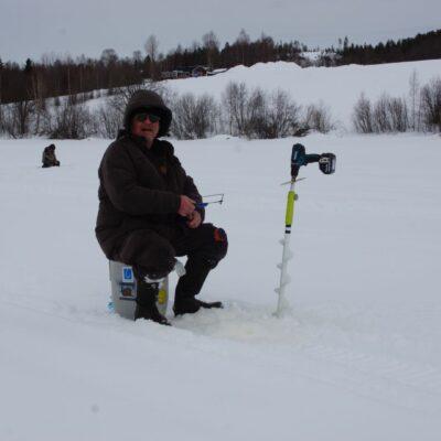 Tommy Svanefjord fick en enda liten fisk