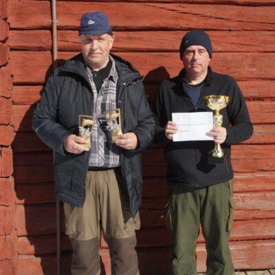 Sune Eriksson, Vinliden, blev dagens vinnare i Storfiskar'n i Örträskbygden med Kent Eriksson, Vännäs, som totalsegrare över alla tre deltävlingar i Storfiskar'n