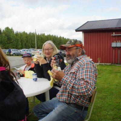 Torleif Söderlund var rädd att inte få vara med på bild så jag var tvungen att fotografera honom och lova publicering på hemsidan :-)