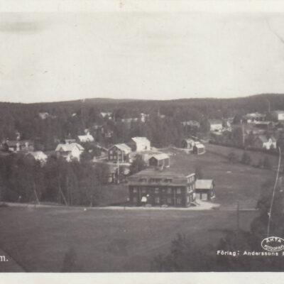 Bjurholm Förlag: Anderssons Pappershandel Poststämplat 1935-11-27 Ägare: Åke Runnman 9x14