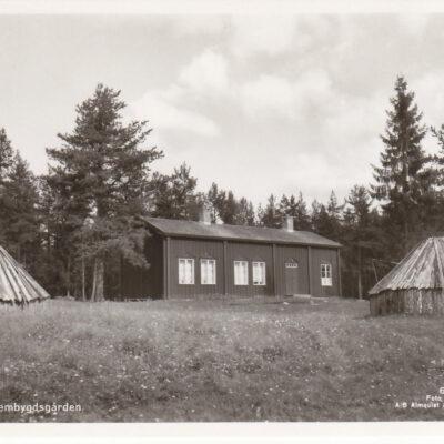 Lycksele Hembygdsgården Förlag: Lycksele Pappershandel Skrivet men ej stämplat 1962-01-31 Ägare: Åke Runnman 9x14