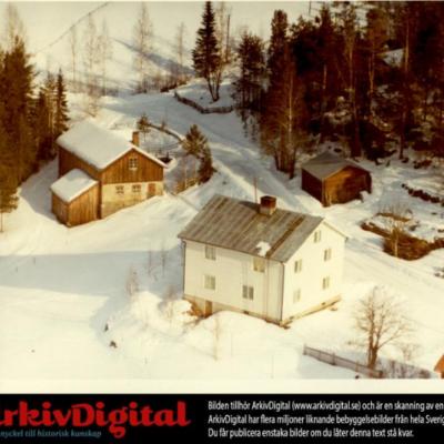 Februari 2019. En bild från luften över Örträsk. Är det någon som vill kommentera så hör av er till ake@runnman.se