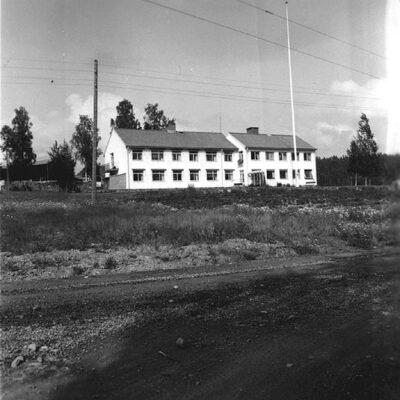 December 2019. Bild av Öregården innan tillbyggnaden av Pärlan. Bilden finns på Västerbottens museum