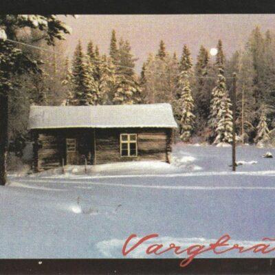 Vargträsk i södra Lappland Foto: Marie Westerlind Ocirkulerat Ägare: Åke Runnman