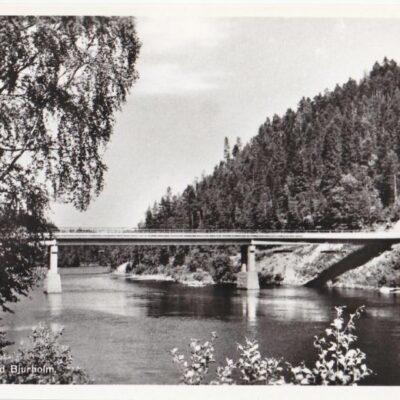 Öreälvsbron vid Bjurholm Ocirkulerat Ägare: Åke Runnman 9x14
