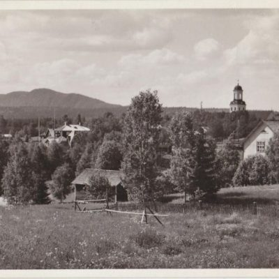 BJURHOLM Förlag: Anderssons Bok- & Pappershandel, BjurholmPoststämpel oläsligÄgare: Åke Runnman9x14