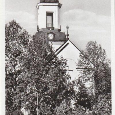 Kyrkan. Bjurholm Förlag: André Olsson, BjurholmPoststämpel oläsligÄgare: Åke Runnman9x14