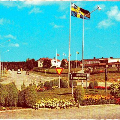 Bjurholm. Värdshuset Bävern Förlag: Anderssons Bok & Pappershandel Eftr. Bjurholm Ocirkulerat Ägare: Åke Runnman 10x15