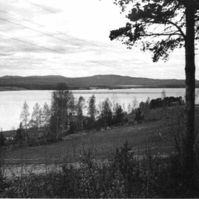 Sjöflottning på Örträsket i juni 1958 Källa: UFF 13.8.2