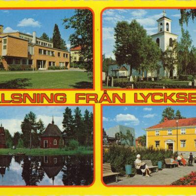Hälsning från Lycksele Foto: Dino Sassi Ocirkulerat Ägare: Åke Runnman 10x15