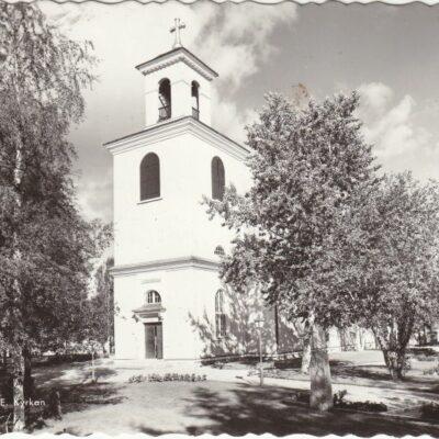 Lycksele. Kyrkan Pressbyrån 22492 Poststämplat 24/7 1959 Ägare: Åke Runnman 10x15